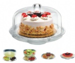Multifunctional Acrylic Cake Stand with Cover