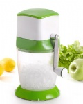 plastic manual colorful ice crusher