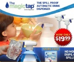 Magic tap automatic drink dispenser as seen on TV